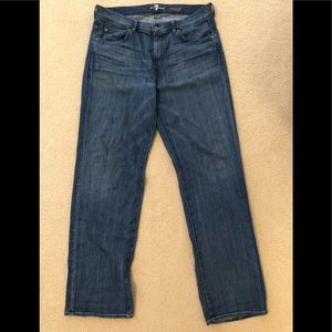 7 for all Mankind Jeans. Worn once.